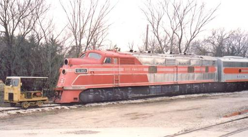№630 железной дороги Chicago, Rock Island & Pacific (RI)