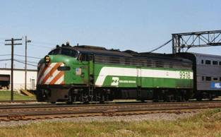 Burlington Northern № 9918
